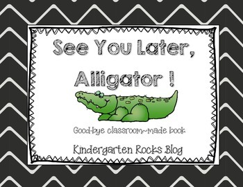 picture regarding See You Later Alligator Poem Printable named Superior-bye Clroom Ebook