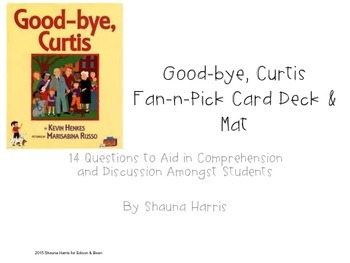 Good-bye, Curtis Fan & Pick cards (Trophies 2nd grade)