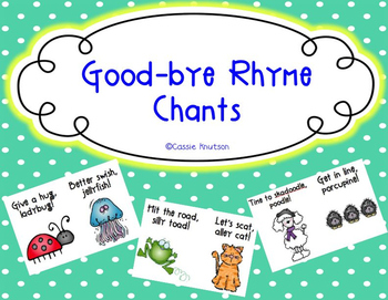 Good-bye Rhyme Chants
