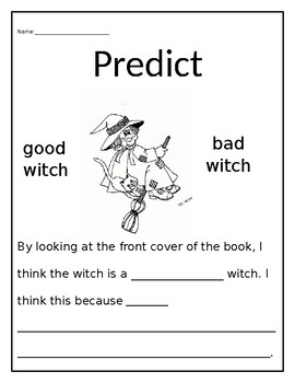 Good or Bad Witch-Predictions