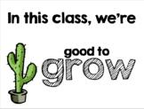 Good to Grow Bulletin Board