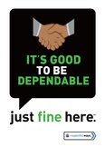 Good to be Dependable