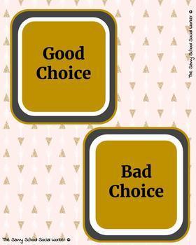Good vs. Bad Choices
