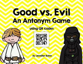 Good vs. Evil: An Antonym QR Code Game