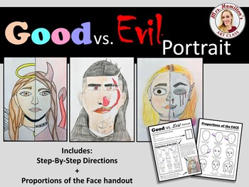 Good vs. Evil Portrait