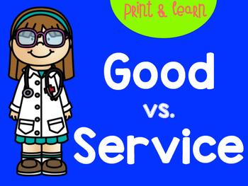 Goods vs. Services
