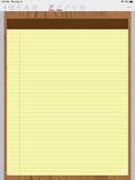GoodNotes Yellow Digital Notepad