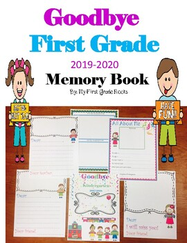 """Goodbye 1st Grade"" Memory Book"