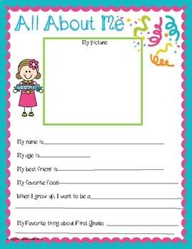 """Goodbye 1st Grade"" Memory Book"