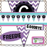 Goodbye Pennant (Freebie)