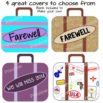 Goodbye Book - Foldable Suitcase of Memories