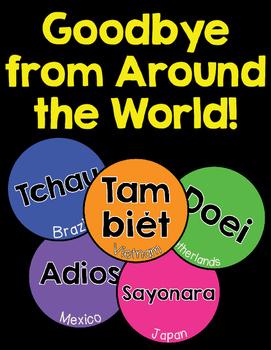 Goodbye Language Posters