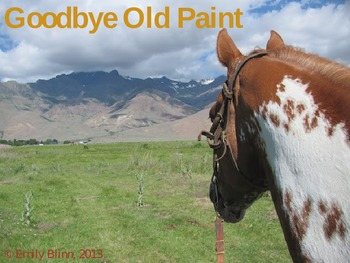 Goodbye Old Paint Sing-Along