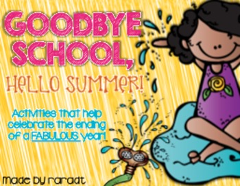 Goodbye School, Hello Summer! {4 End of the Year Craftivities}