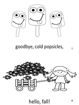 Goodbye Summer Mini Book