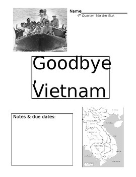 Goodbye, Vietnam Study Packet