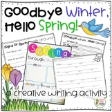 Spring writing - Signs of Spring