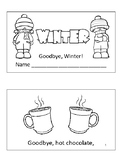 Goodbye, Winter! Mini Book