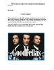 Goodfellas Study Guide