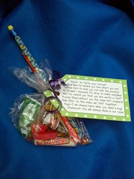 Goodie Bag Tags for Back to School