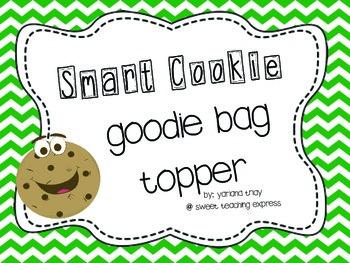 Goodie Bag Topper