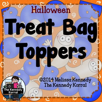 Goodie Bag Toppers: Halloween