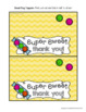 Goodie Bag Toppers for Teachers, Staff, or Students (Candy Theme)