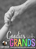Goodies with Grands   Grandparents Day Activities