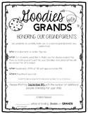 Goodies with Grands: A Grandparents Day Celebration