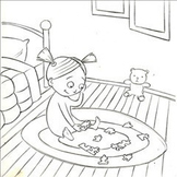 Goodnight Becky Coloring Page