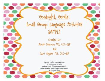 Goodnight, Gorilla - Activity Board Sample
