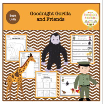 Goodnight Gorilla and Friends Printable