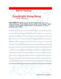 Goodnight Hong Kong Poetry Packet w/ Poem, Writing Prompt,