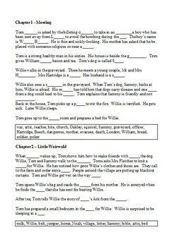 "Goodnight Mister Tom - Summary in ""Fill in the Blanks"" format"