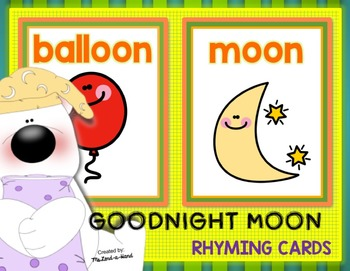 Goodnight Moon R.T.I. Fluency Resource by Ms. Lendahand:)