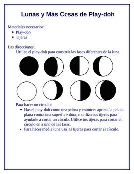Goodnight Moon Activities / Actividad de Buenas Noches Luna