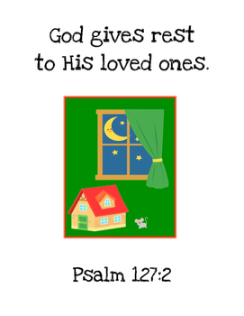 Goodnight Moon Bible Verse Printable Pack