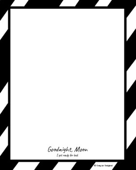 Goodnight Moon Book Companion Craft for Kindergarten