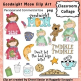 Goodnight Moon - Color - pers & comm cookies milk moon stars girls