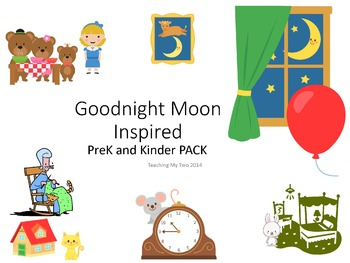 Goodnight Moon Inspired PreK and Kinder Pack 375 PAGES