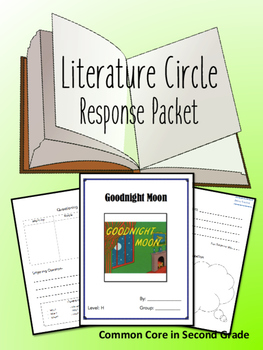 Goodnight Moon Literature Circle Response Packet- Book Club- Novel Study