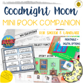 Goodnight Moon Mini Book Companion for Speech Therapy   DI