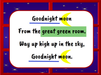 Goodnight Moon - Music Literacy Lesson