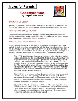 Goodnight Moon Parent Notes