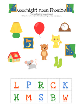 Goodnight Moon Phonics Match