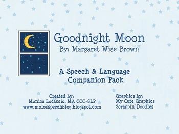Goodnight Moon Speech & Language Companion Pack