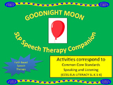 Goodnight Moon Speech Therapy Companion Corresponds to Common Core