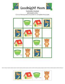 Goodnight Moon - Sudoku Puzzle (Beginner Level)