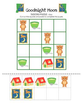 Goodnight Moon - Sudoku Puzzle (Easy Level)