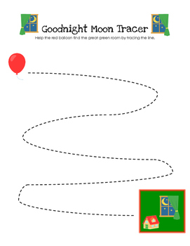 Goodnight Moon - Tracer Worksheet